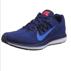 Men's Nike zoom winflo 10.5 adidas blue brand new
